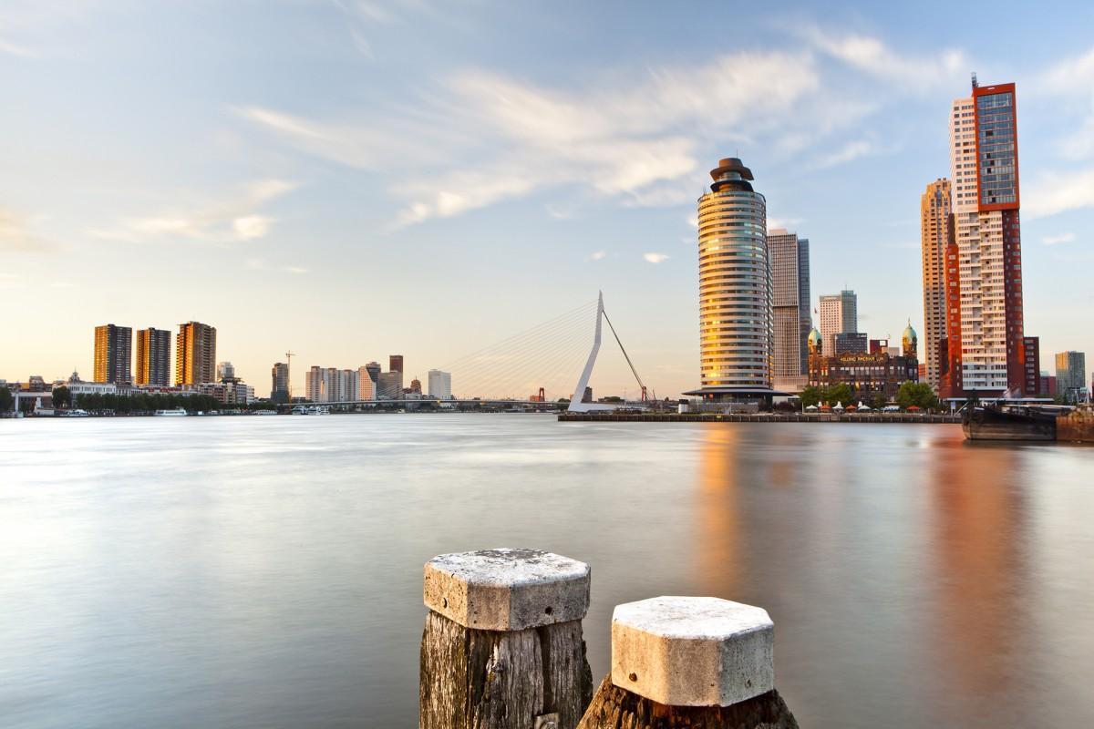 Dutch-event-site-management-Rotterdam-old-harbor-sunset-e1481206673506