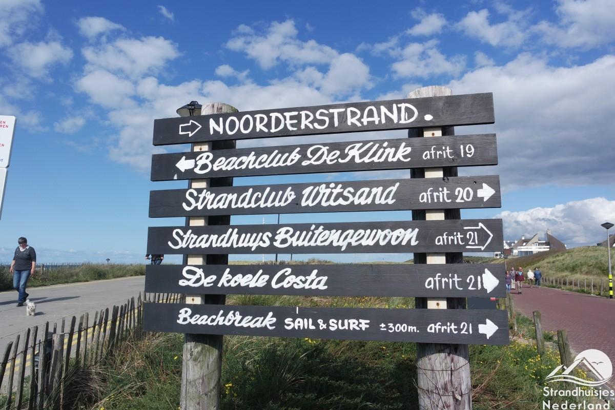 Borden-strand-Noordwijk